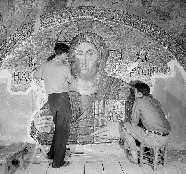 Restoration Chora Church Byzantine Institute