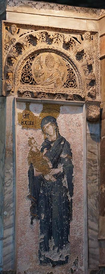 Beautiful Icon of the Theotokos