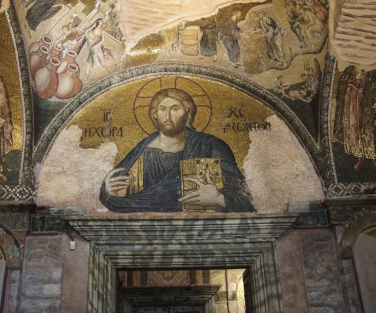 Byzantine art- mosaic of Christ Pantokrator