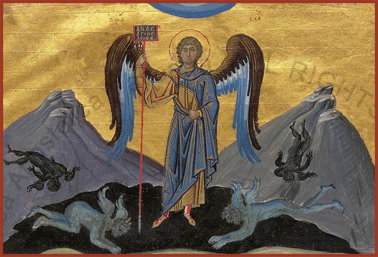 Archangel Michael Defeats Devils!