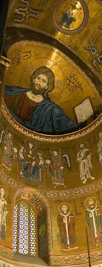 Christ Pantokrator in Apse of Monreale
