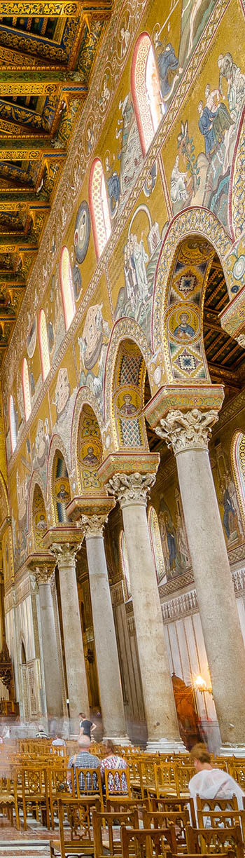right side Monreale cathedral