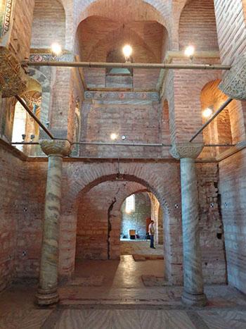 Interior of Glabas Chapel - Pammakaristos Church