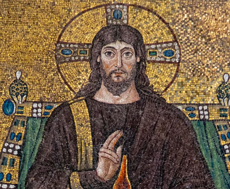 Christ on an Imperial Throne - Ravenna