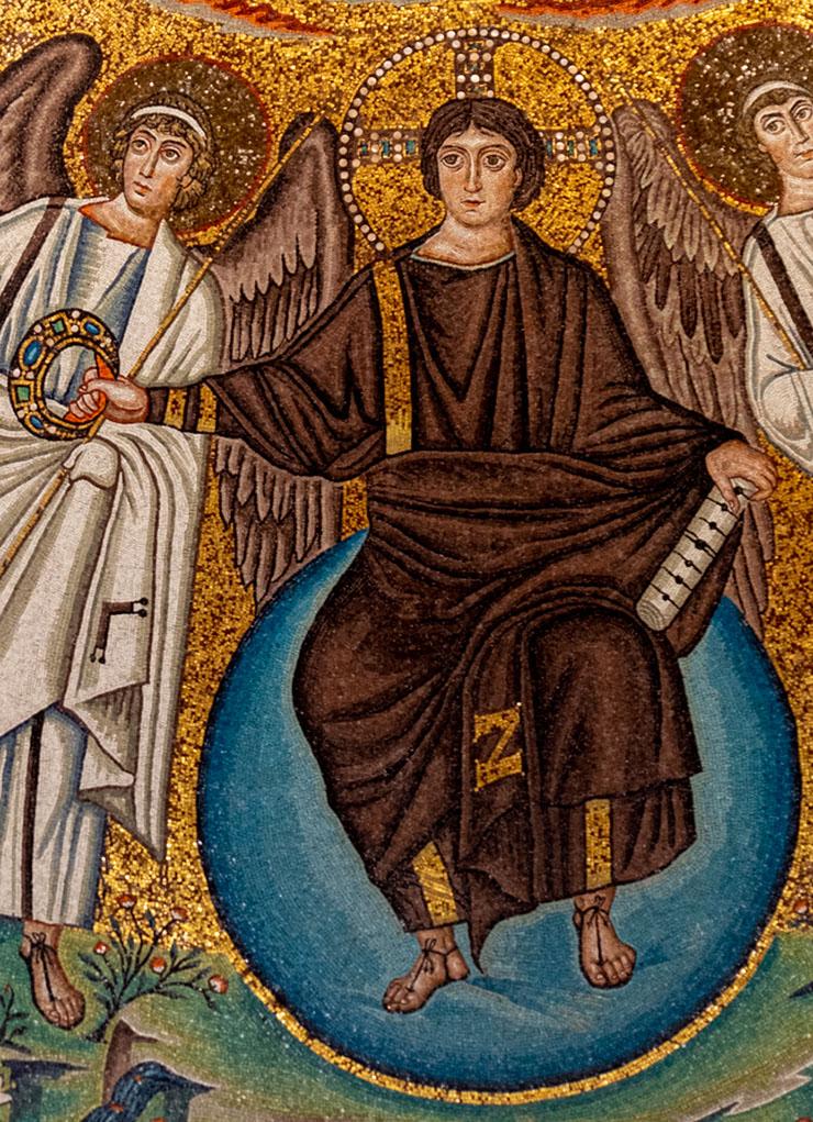 Christ in Glory in San Vitale in Ravenna