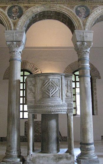 Ravenna marble ambo