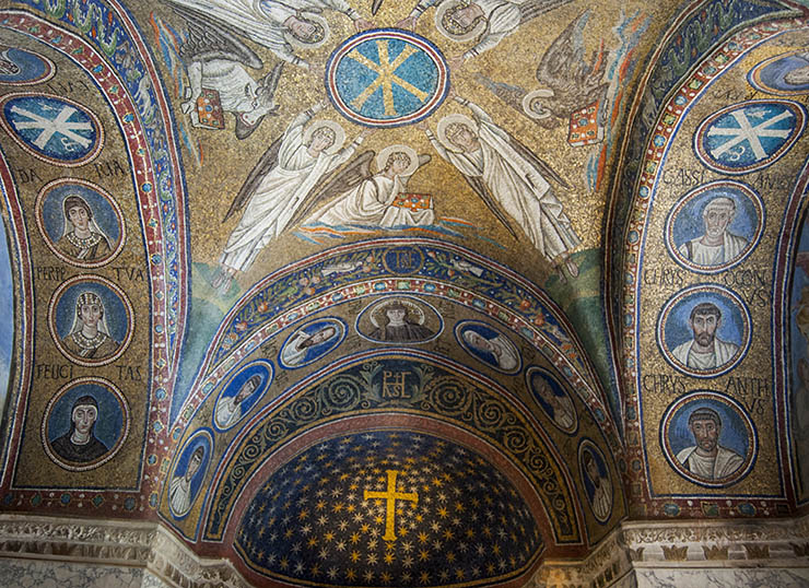 Early Byzantine Mosaics in Ravenna