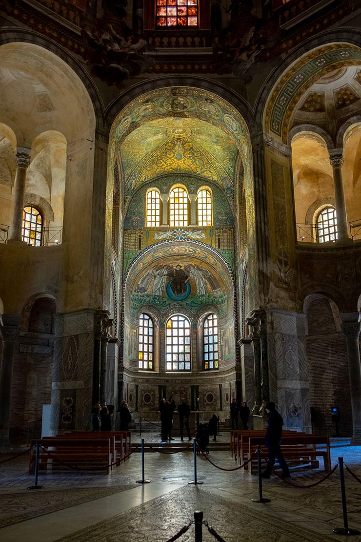 Church of San Vitale in Ravenna