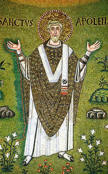 Byzantine Mosaic in Classe