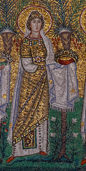 Virgin Martyr in Ravenna