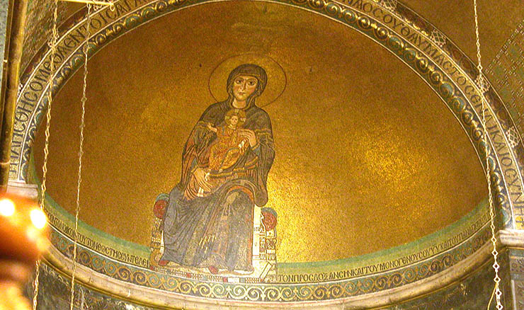 Byzantine art in Thessaloniki - Saint Sophia