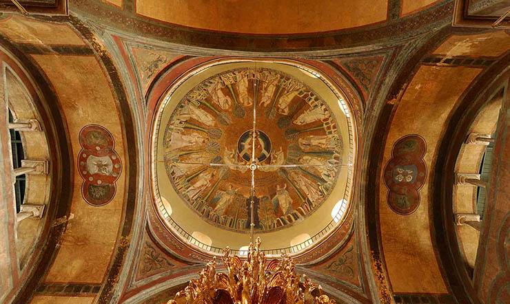 Byzantine art and mosaics - Thessaloniki