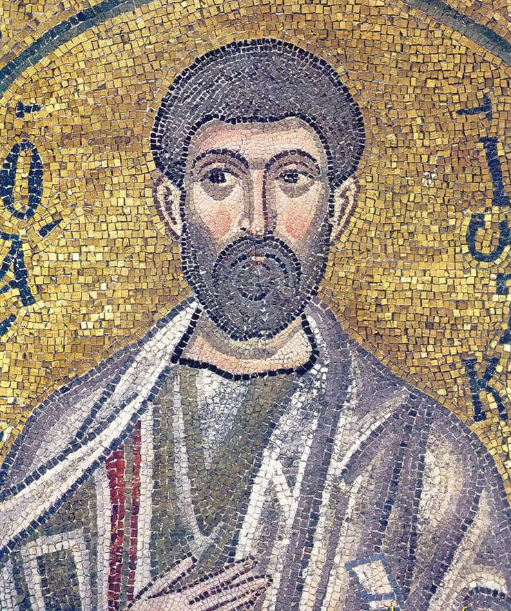 Byzantine Art - a mosaic from Nea Moni