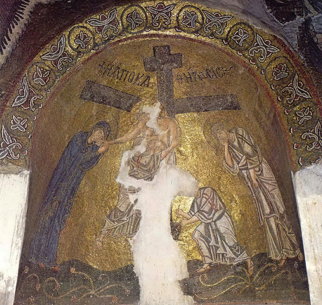 Christ and the descent from the cross