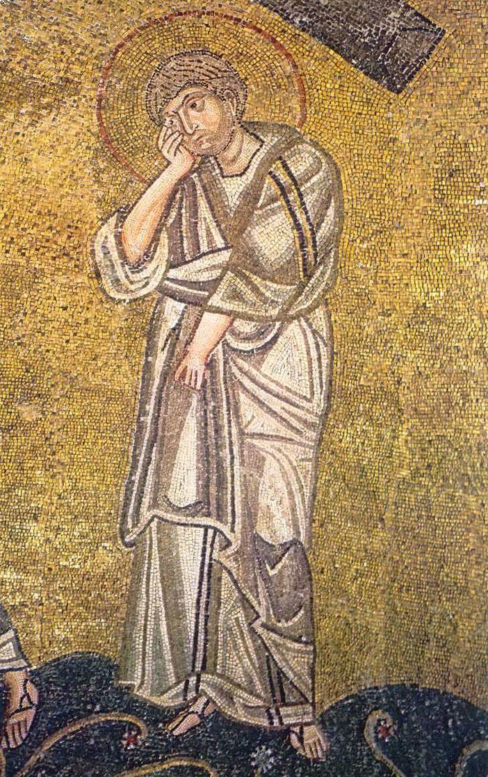 Saint John the Beloved - at the cross
