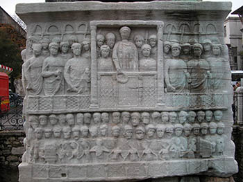 Byzantine Art - Imperial Court in the Hippodrome
