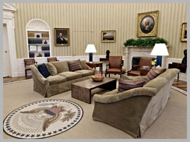 The Obama Oval Office