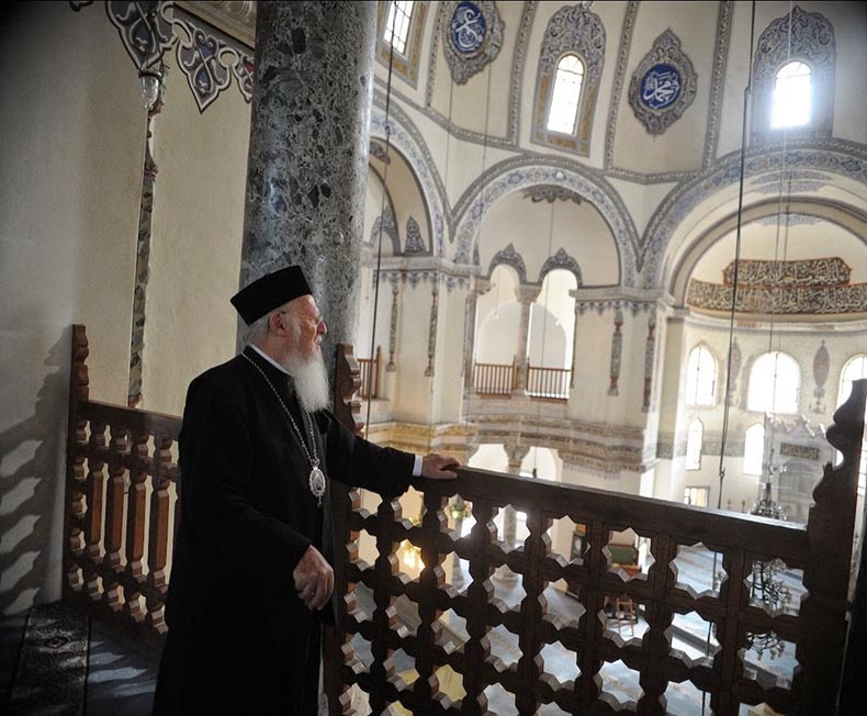 Patriarch in Sergius and Bacchus