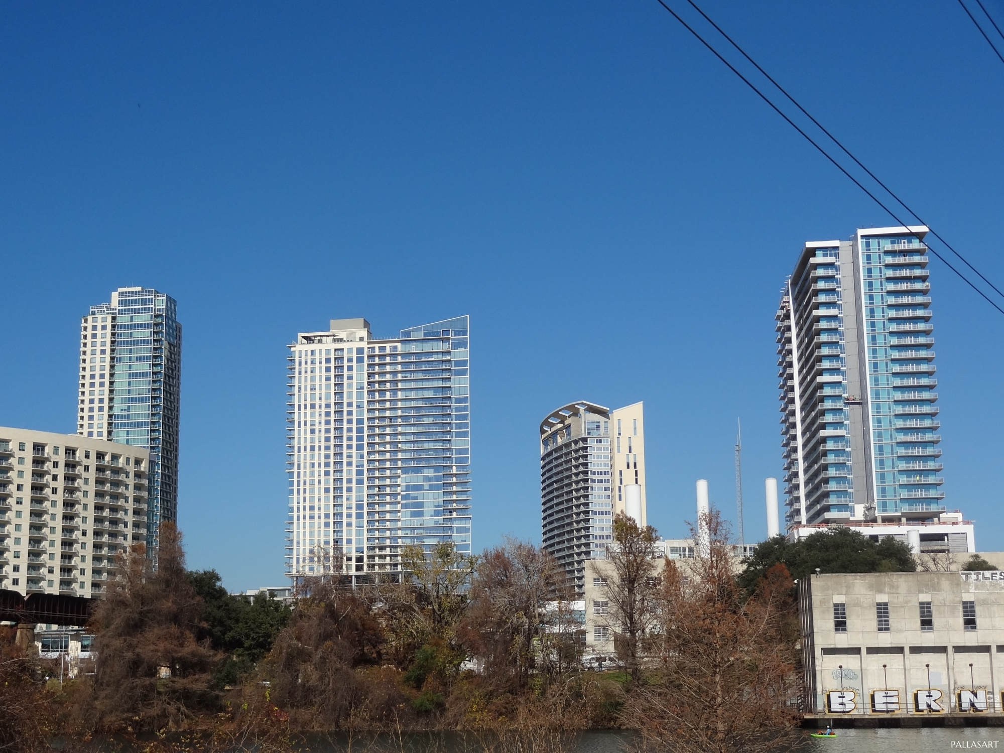 The Spring, The Bowie, The Monarch, and Seaholm residential towers