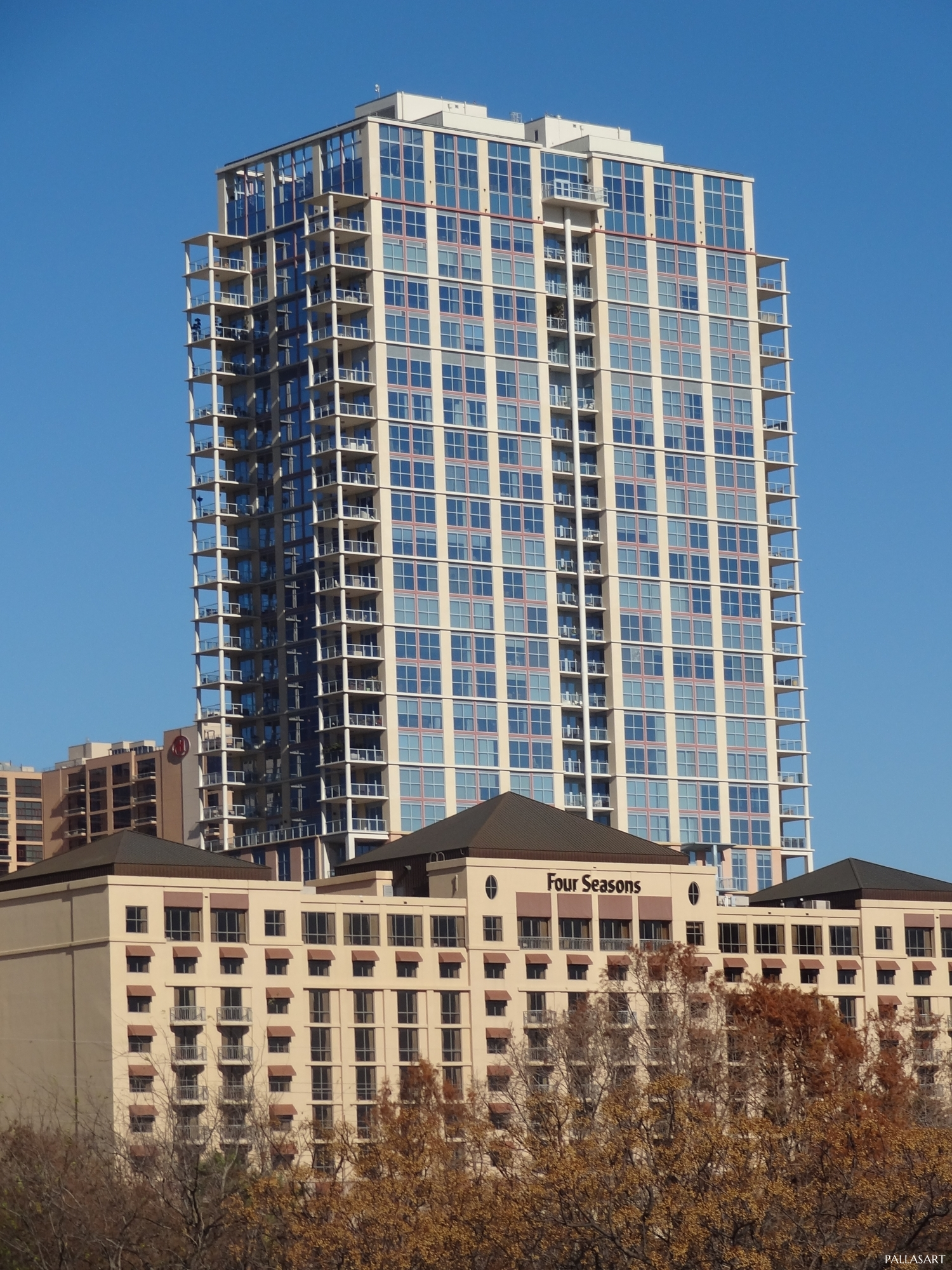 The Four Seasons Residences, 98 San Jacinto, Austin, TX
