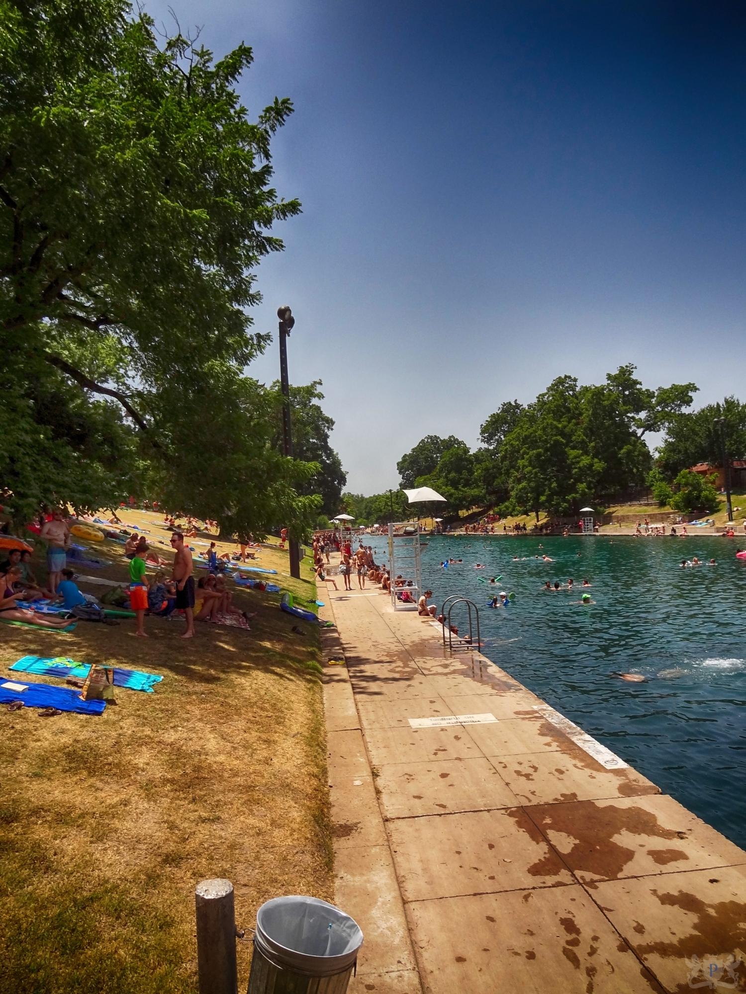 Barton Springs Pool Hot Summer Free Summer Photos Of