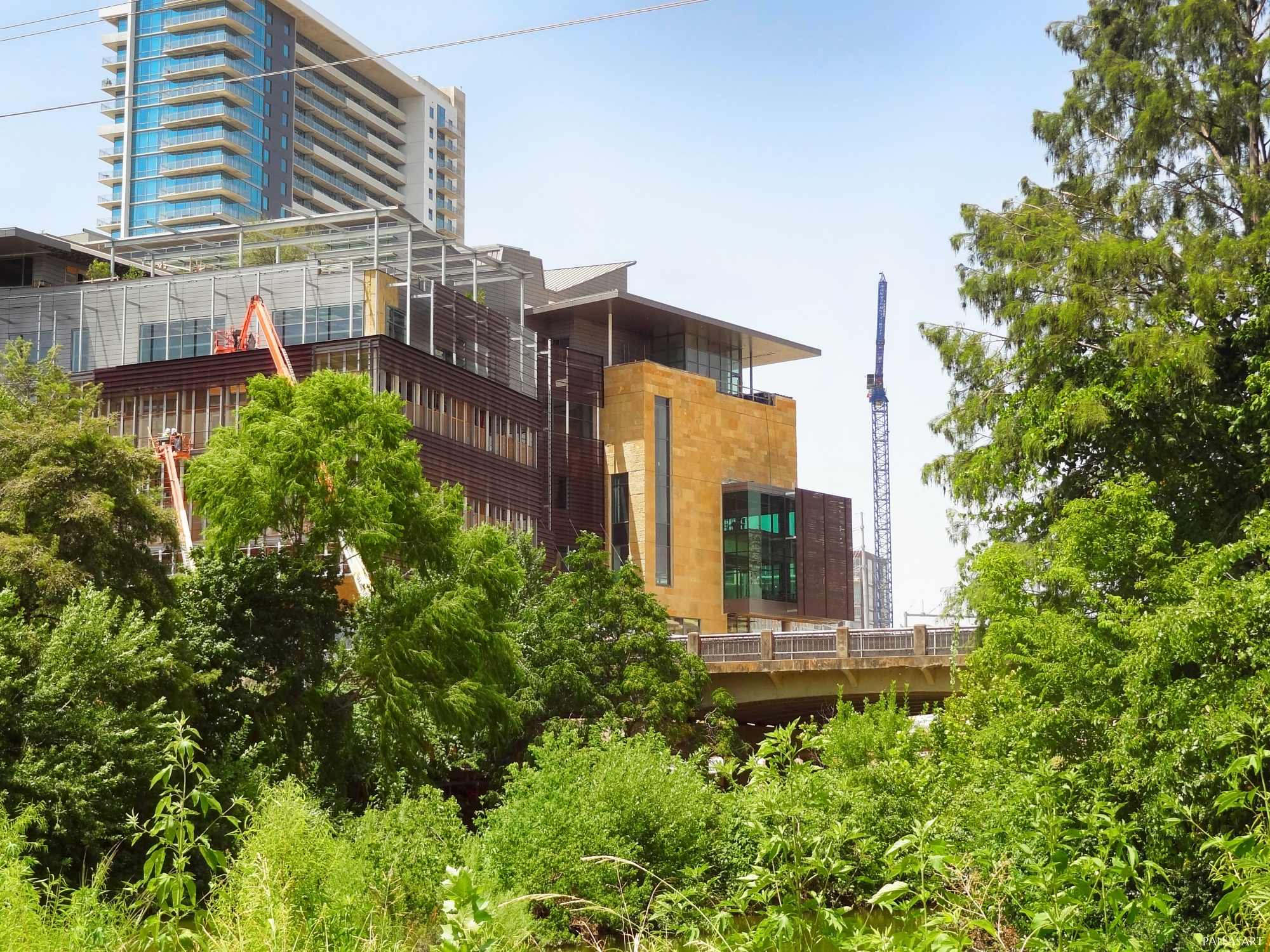 New Austin Central Library Under Construction