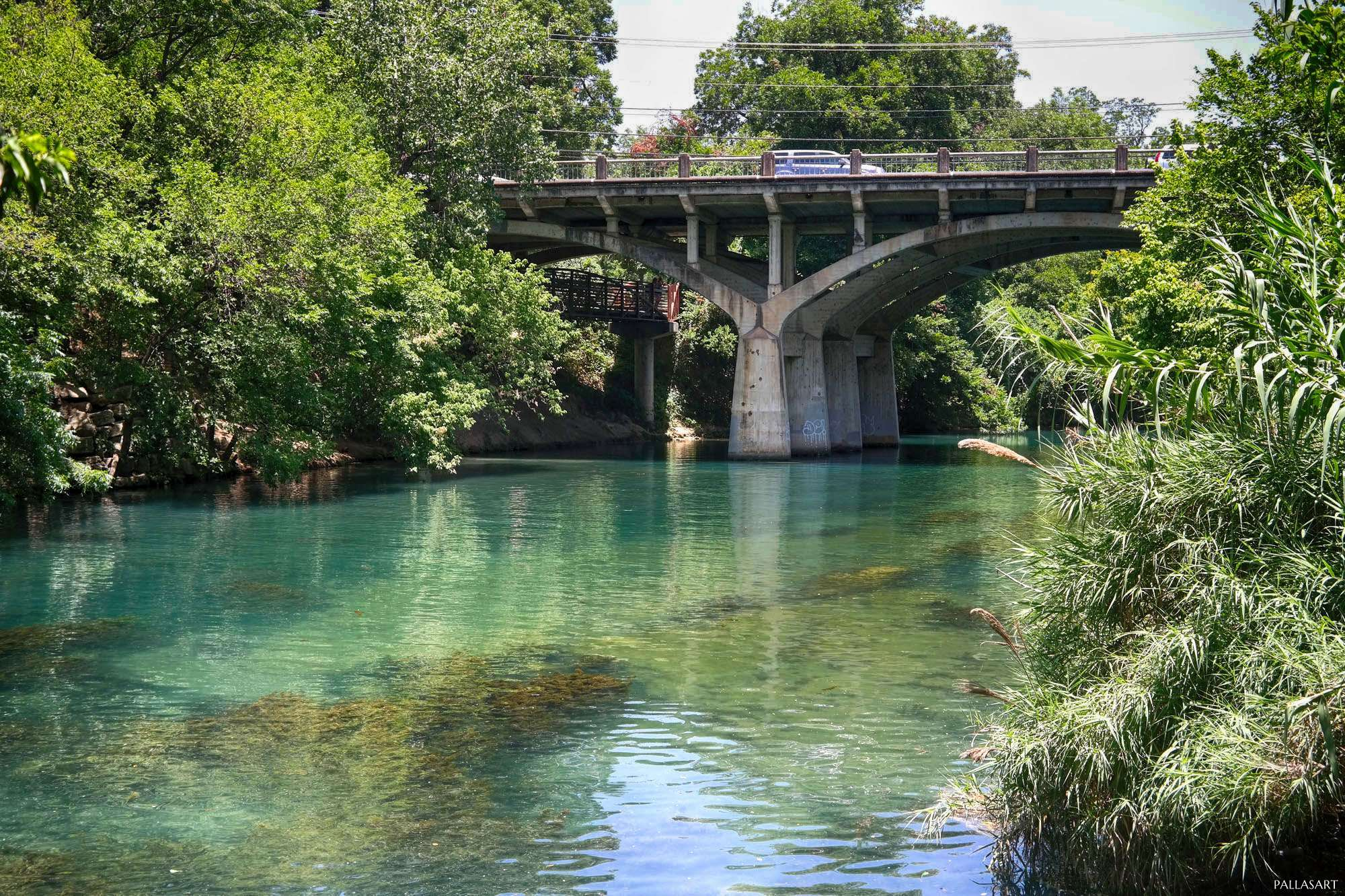 Barton Springs Road Bridge over Barton Creek