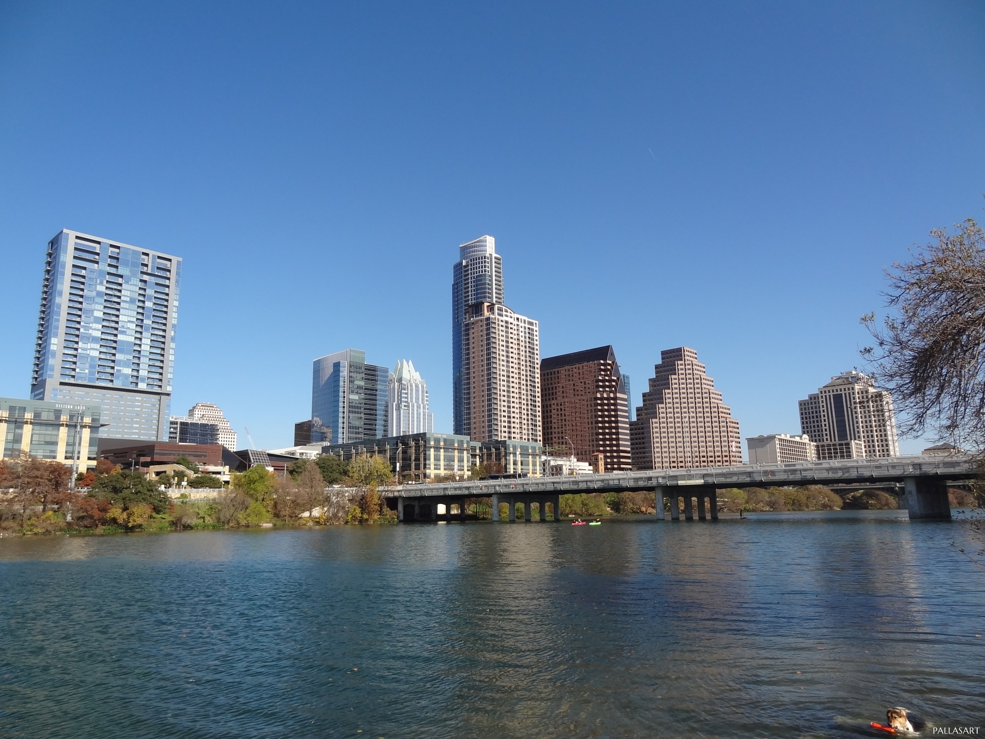 Lady Bird Lake or Town Lake in Austin Texas