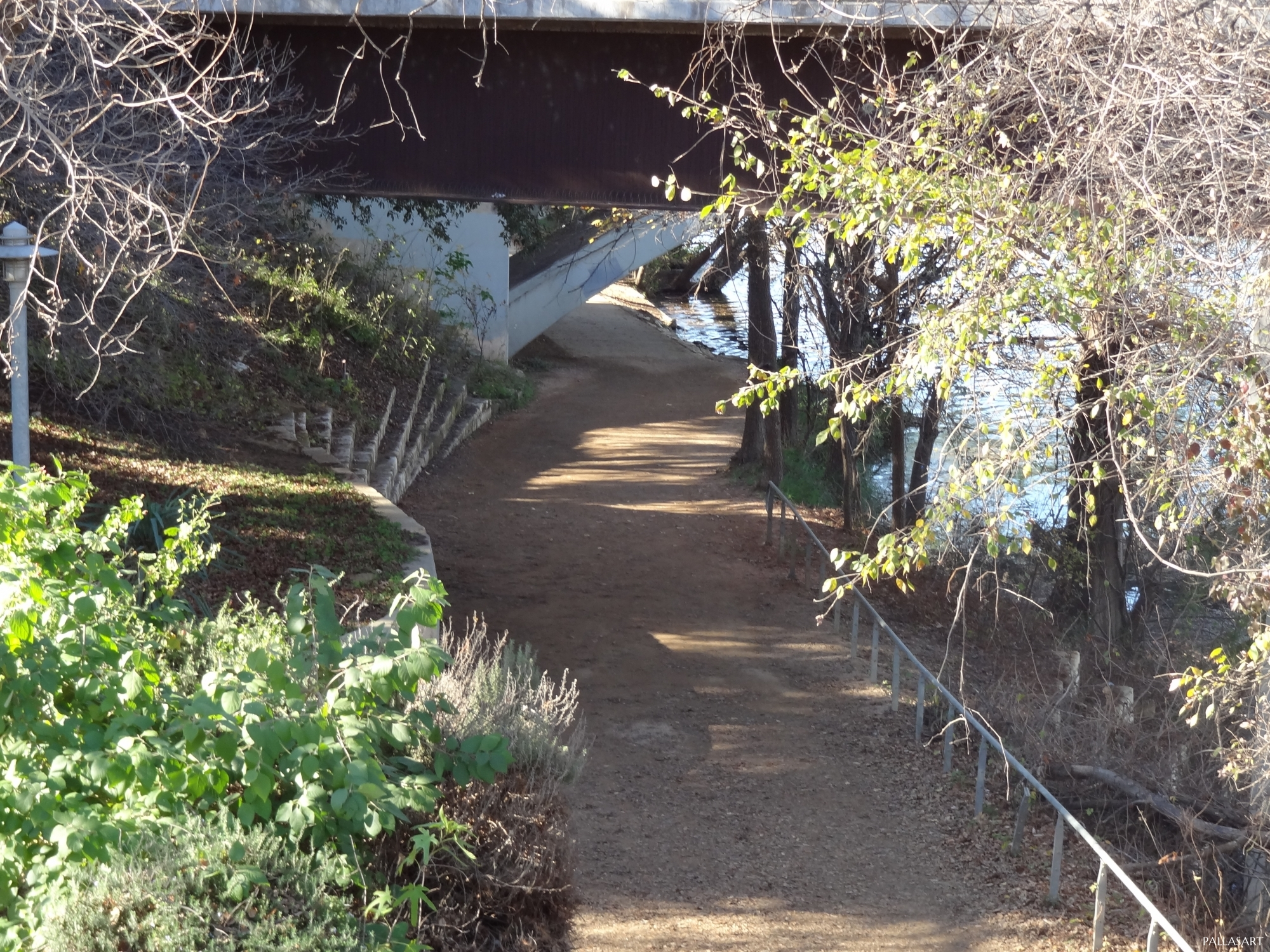 Hike and Bike Trail in Austin, Texas
