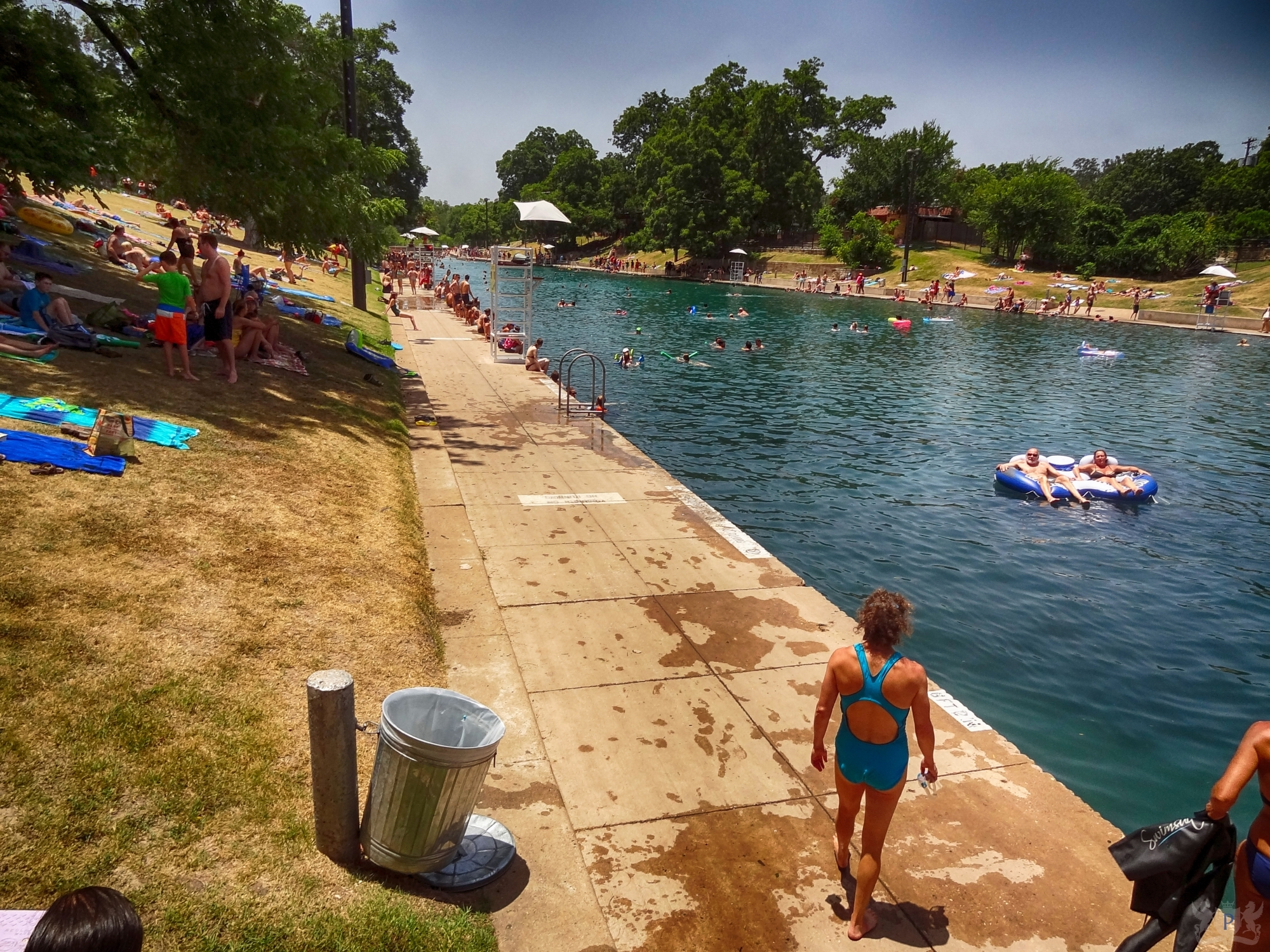 Barton Springs Pool Summer 2016