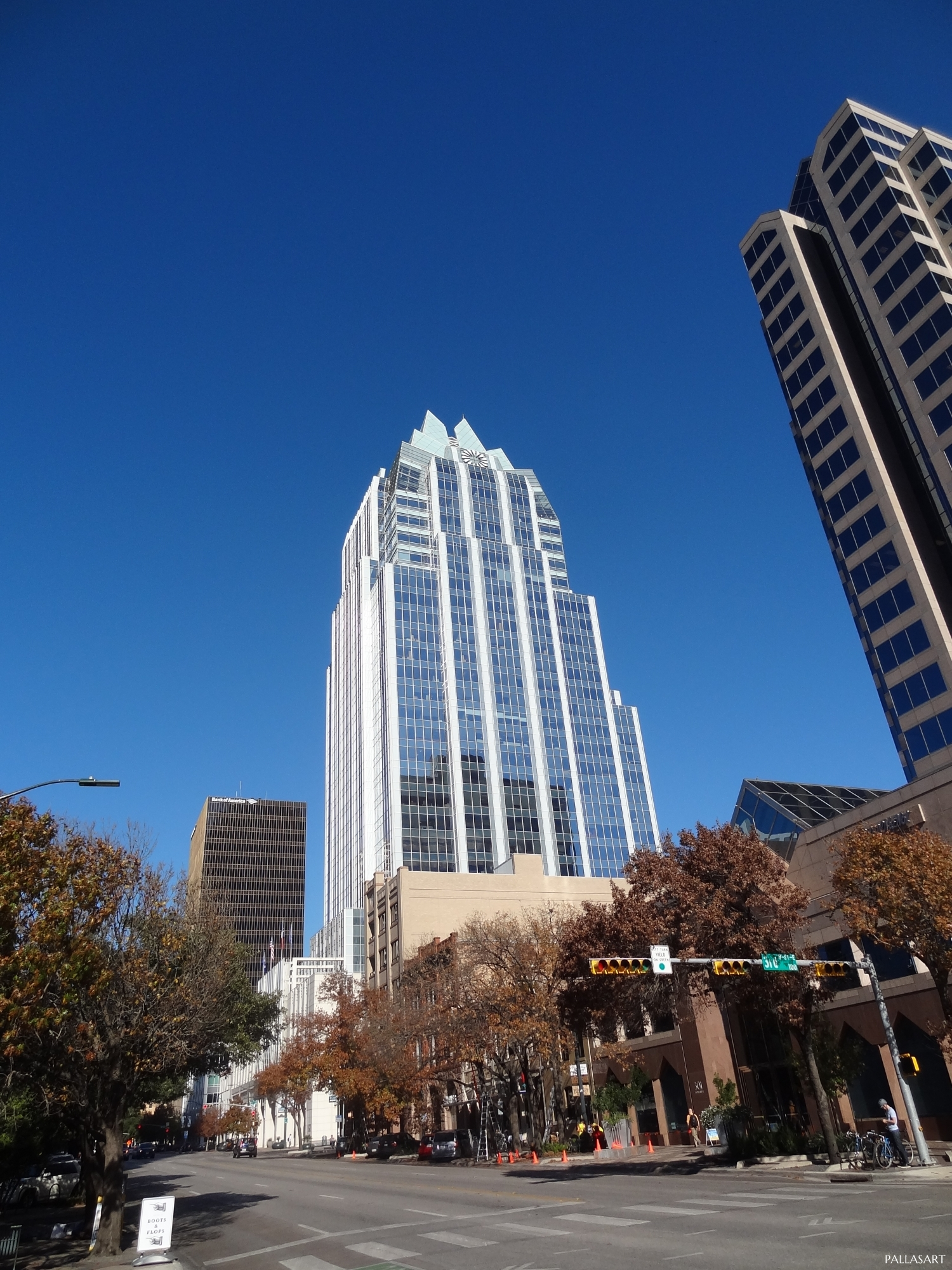 Frost Bank Tower viewed from Congress Avenue