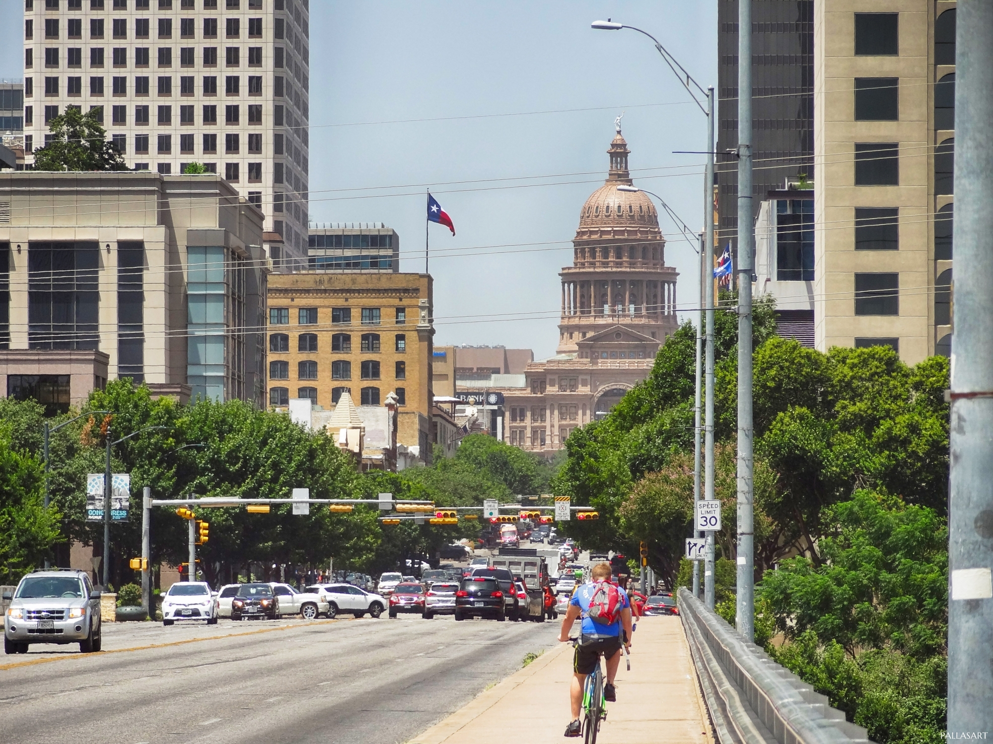 Texas Capitol on Congress Avenue