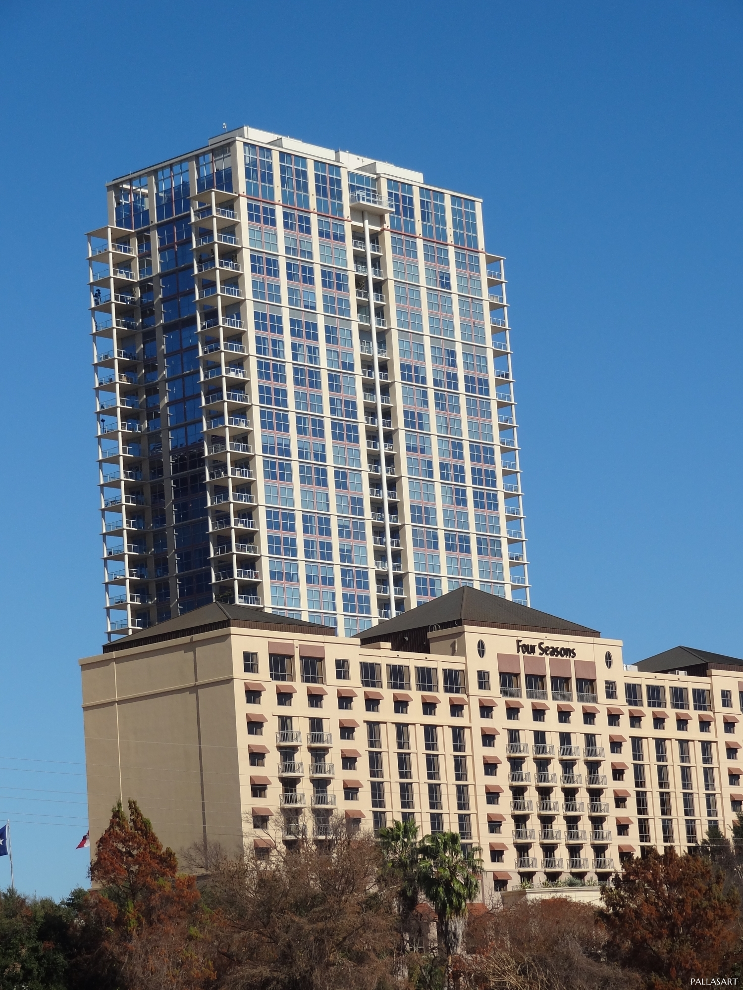 The Four Seasons Hotel and Residences in Austin Texas