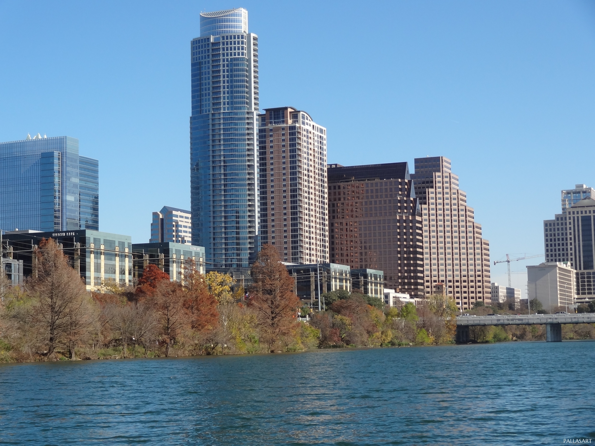 Town Lake in Austin, Texas
