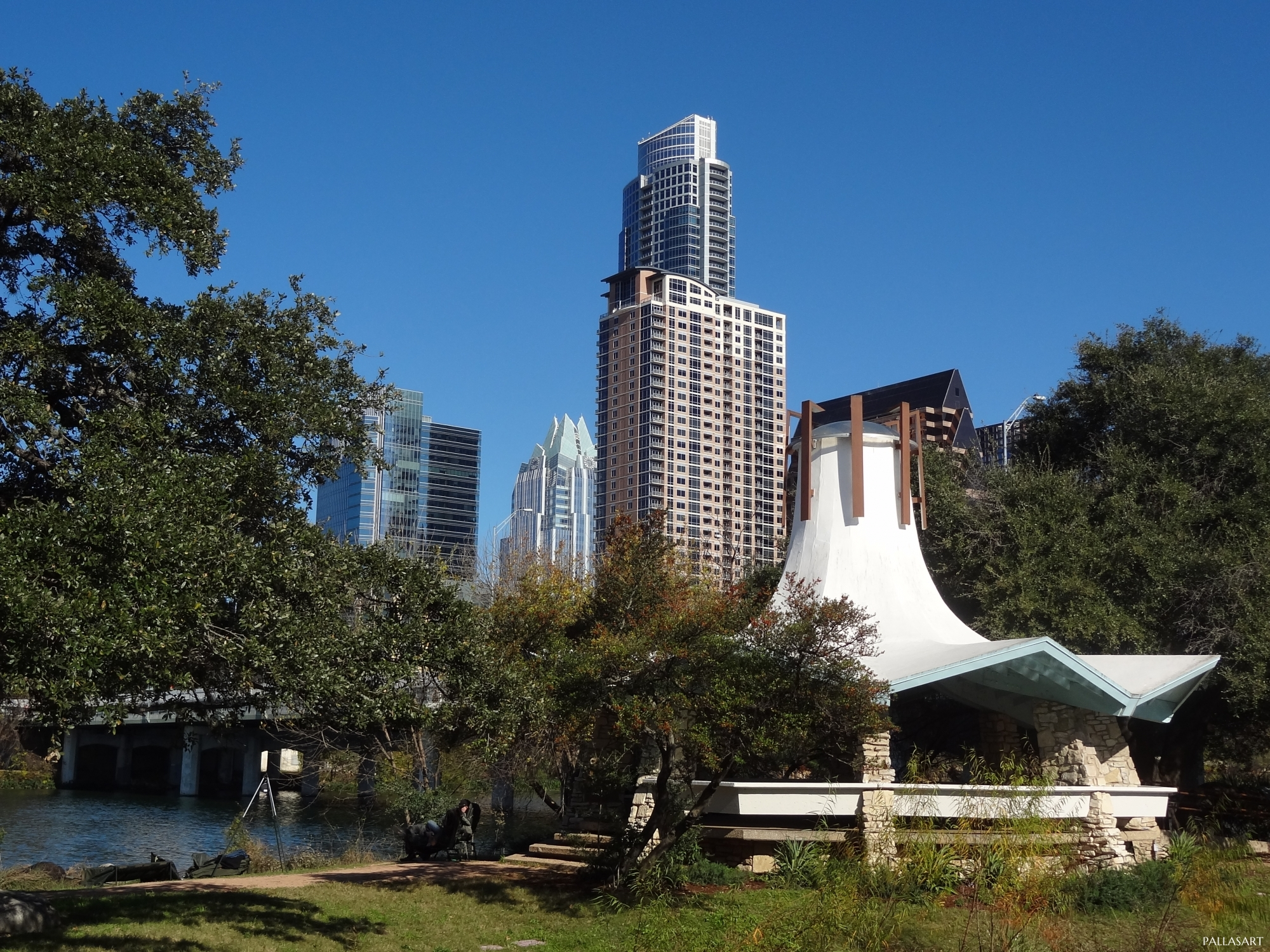 Austin Auditorium Shores Gazebo