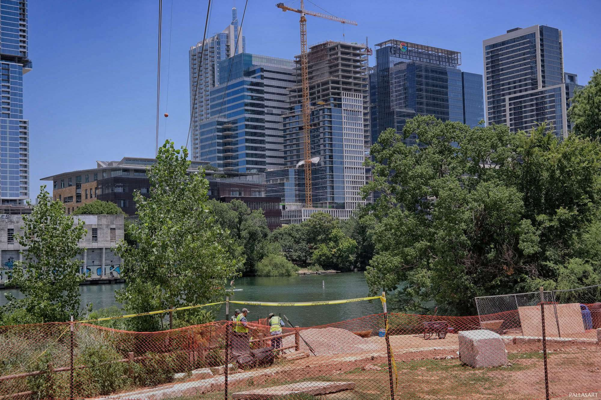 New Construction Downtown Austin