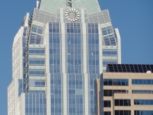 Frost Bank Building in Austin, Texas - Closeup