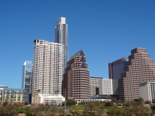 Austin skyscrapers downtown