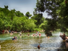 From Barton Springs Facing North