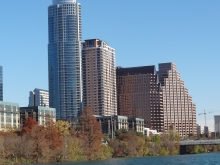 Downtown Austin Skyline in Fall