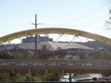 Seaholm Wing Bridge in Austin, TX Under Constrction
