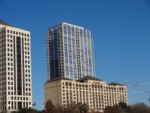 The Four Seasons Hotel on Lady Bird Lake