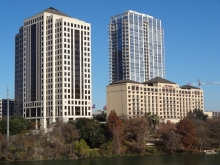The Four Seasons complex on North Shore of Austin's Lady Bird Lake