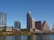 North Shore Skyline of Austin, Texas