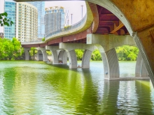 Under Lamar Pedestrian Bridge - Austin, TX