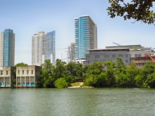 Seaholm Residences and New Austin Central Library