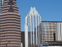 Congress Avenue Buildings in Austin