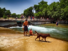Barking Springs Outside Barton Springs
