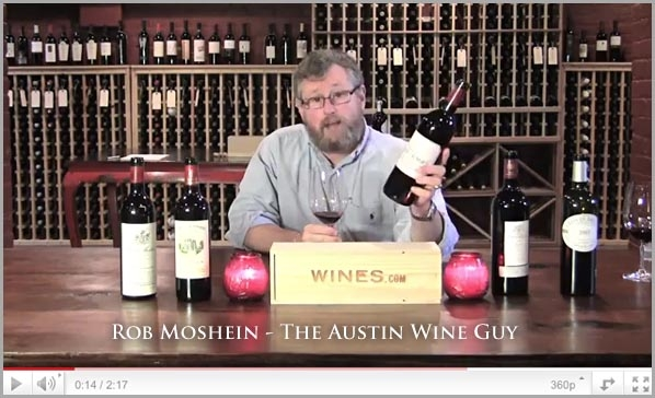 Rob Moshein, The Austin Wine Guy