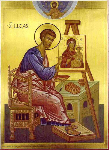 Saint Luke the icon painter